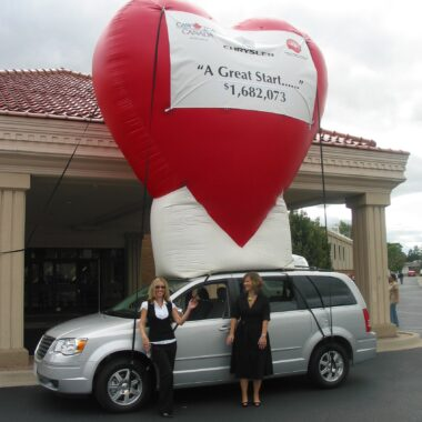 Heart (Customizable) Event Balloon, 15'