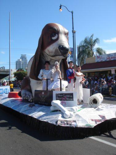 Hush Puppy Float