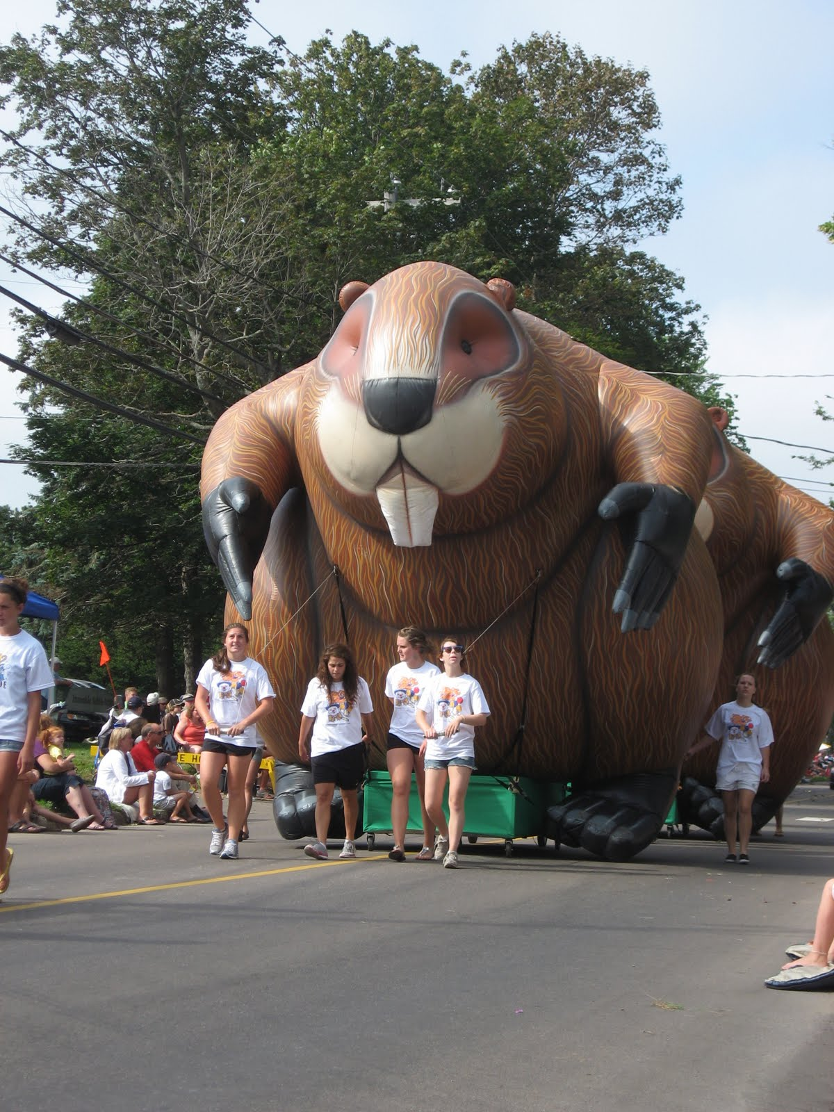 Giant Inflatable Beaver