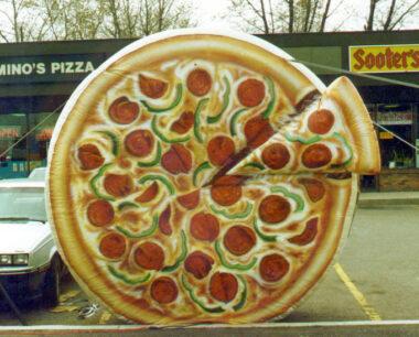 Pizza Parade Balloon (Small), 10'