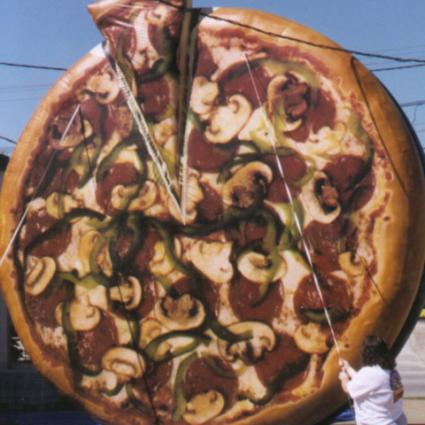Pizza Parade Balloon