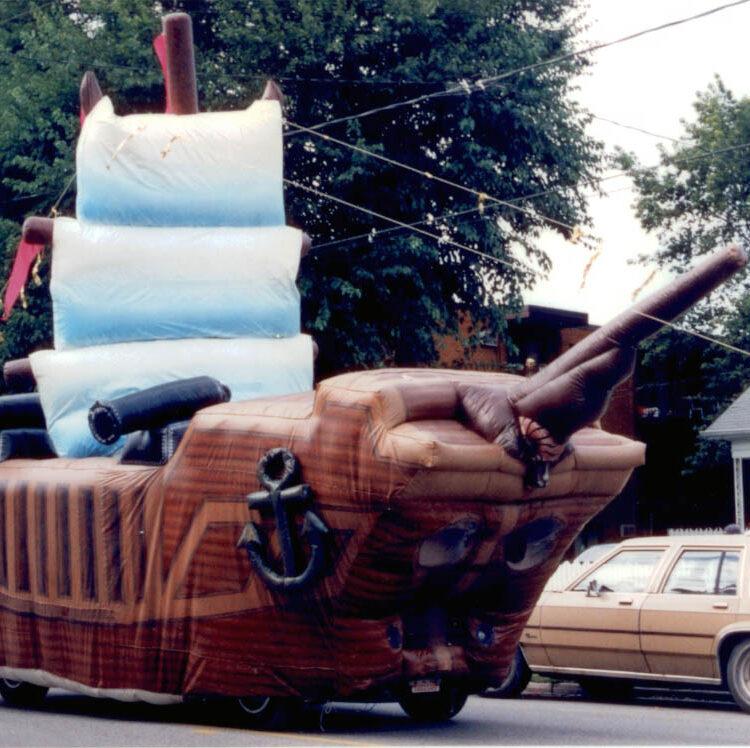 Pirate Ship Parade Float