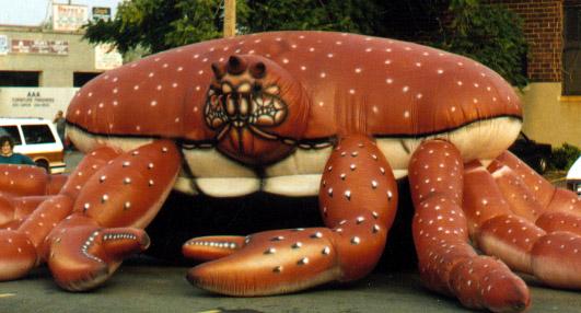 Snow Crab Parade Balloon, 50'