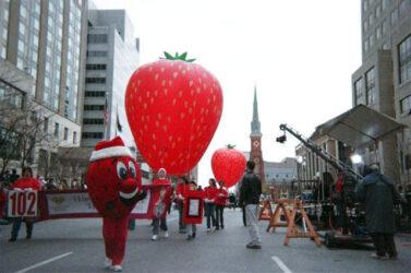 Strawberry Parade Balloons
