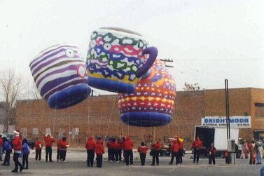 Tea Pot and Cups, Tea Party Parade Balloons
