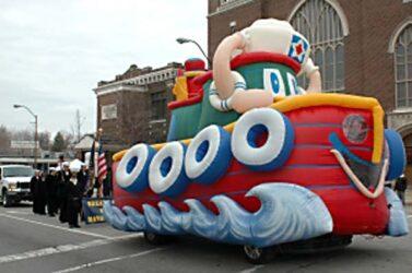 Tuffy Tugboat Parade Float (Inflata-Float)