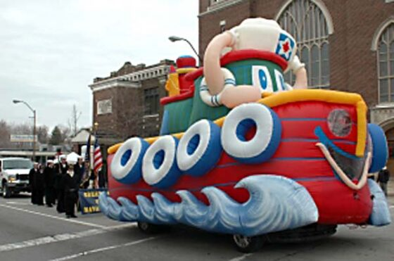 Tuffy Tugboat Parade Float (Inflata-Float)
