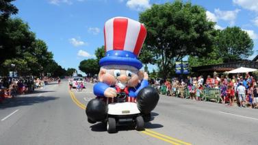 Uncle Sam Parade Float (Krazy Kart)