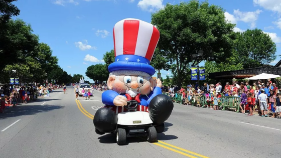 Uncle Sam Parade Float (Krazy Kart)