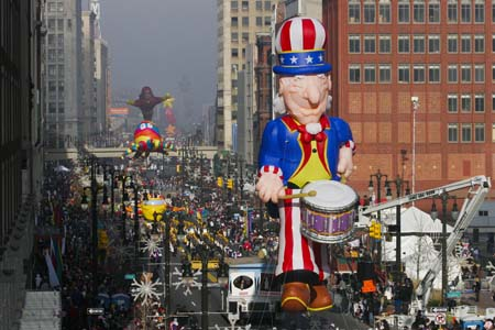 Uncle Sam Parade Balloon (Drum Corp)