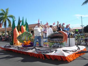 Tropical Fish Parade Float