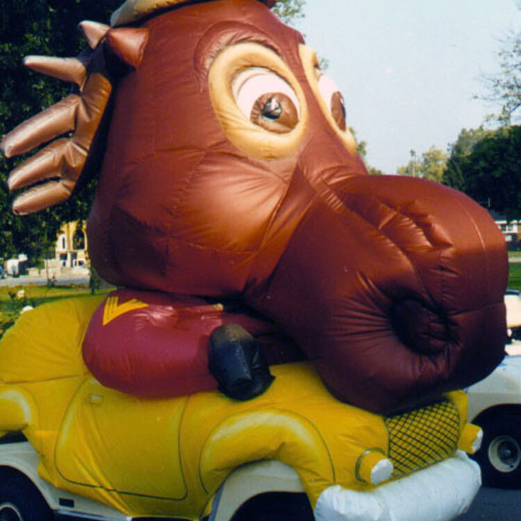 Moose Mini Parade Float