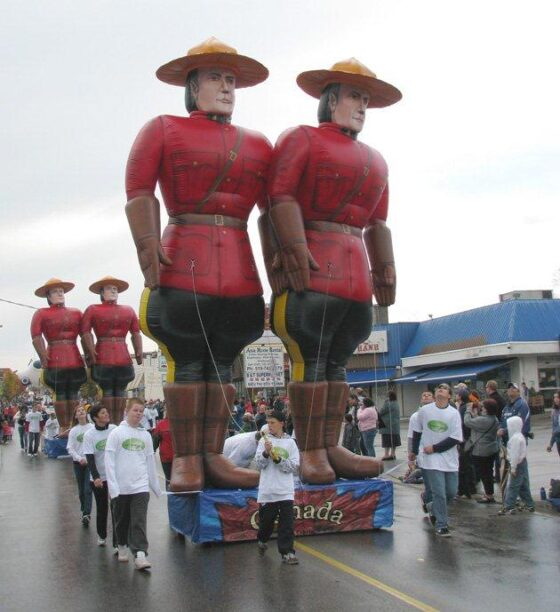Olympic Canadian Mounties