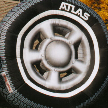 Tire Parade Balloon, 15'