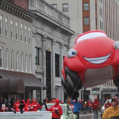 Kyle the Convertible Parade Balloon