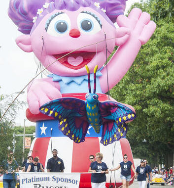Abby Cadabby Parade Float