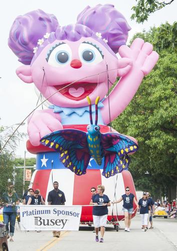 Abby Cadabby Parade Float