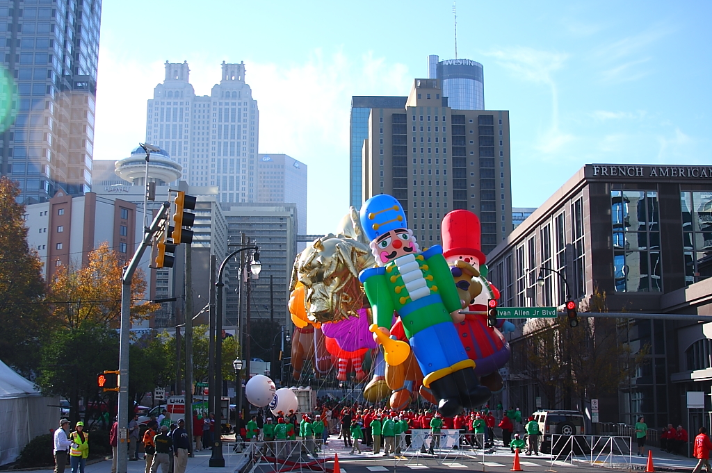 Atlanta Balloon Inflation