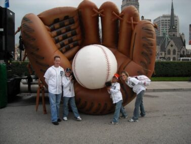 Baseball Glove Parade Balloon