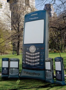 Blackberry Inflatable  Replica