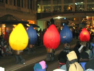 Christmas Lights Inflatable Costumes