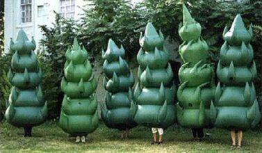 Evergreen Christmas Tree Costumes