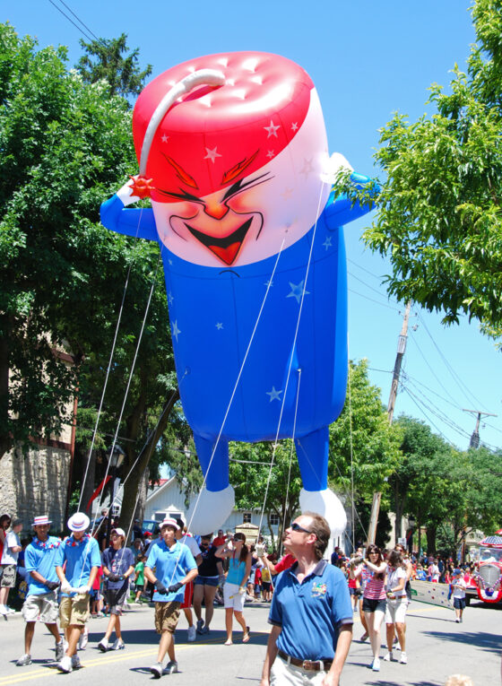 Freddy Firecracker Parade Balloon