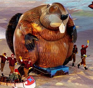 Canadian Olympic Beaver Balloon