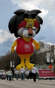Harris Bank Lion Parade Balloon