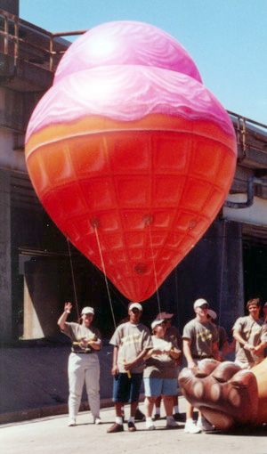 Ice Cream Cone Parade Balloon