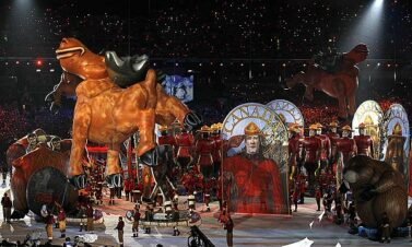 Moose Parade Balloon, Vancouver Winter Olympics