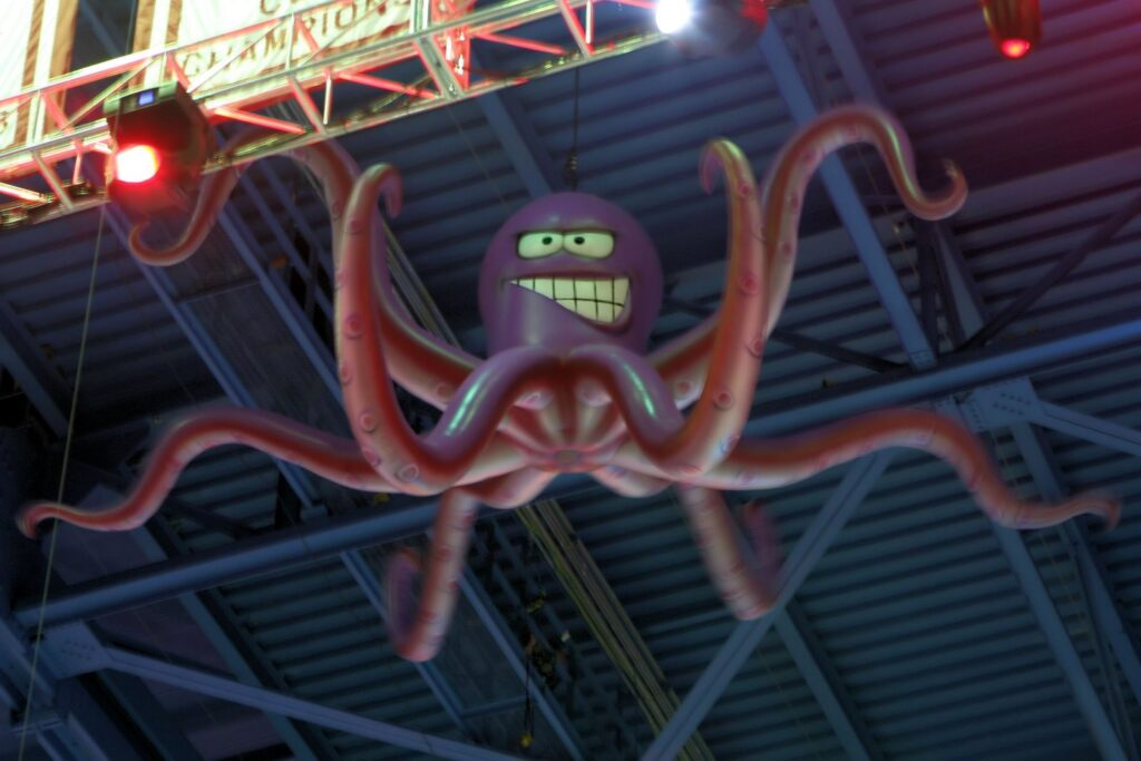 "Detroit Red Wings ""Al the Octopus"""
