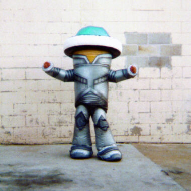 Robot Inflatable Costume (Flashing Lights)