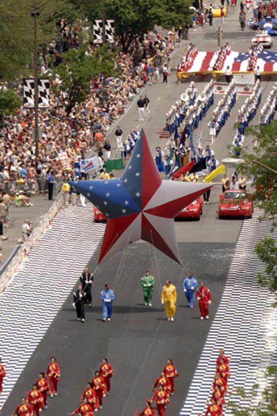 American Star Parade Balloon