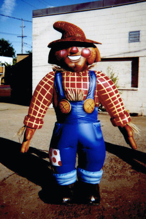 Scarecrow Inflatable Costume (Wizard of Oz)