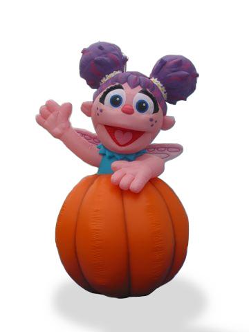 Abby Pumpkin Parade Balloon