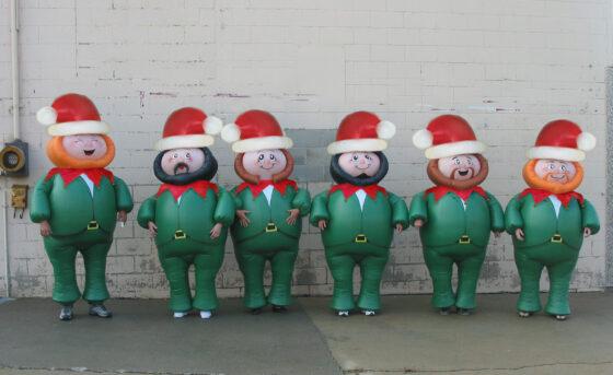 Elf Inflatable Costume Set
