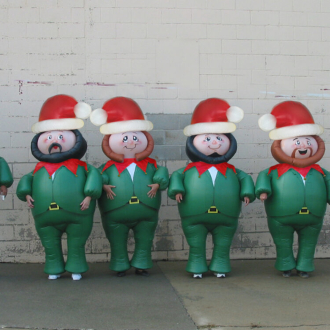 Santa's Elves Costumes
