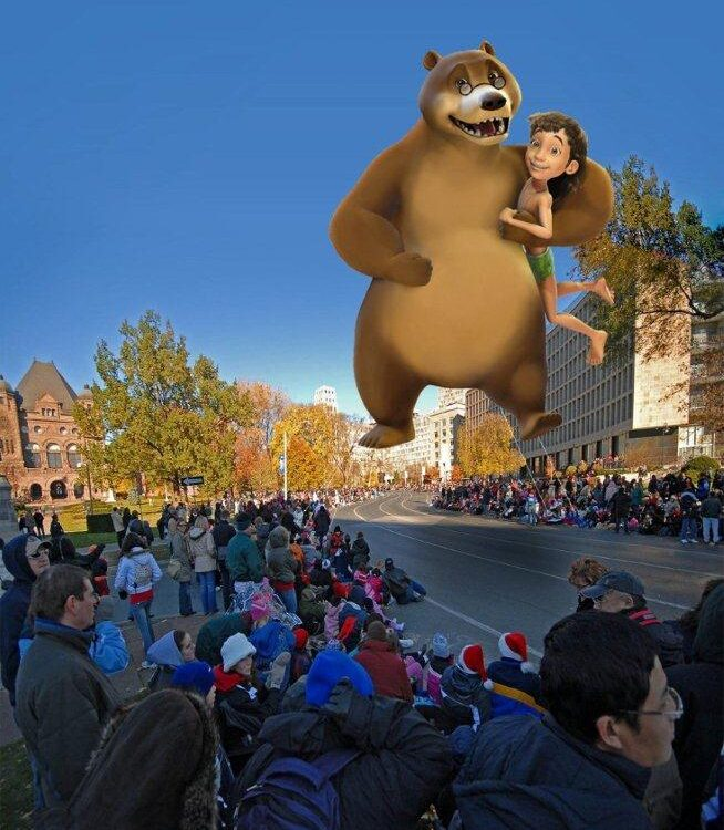 Jungle Book Parade Balloon