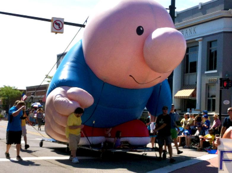 Ziggy Parade Balloon