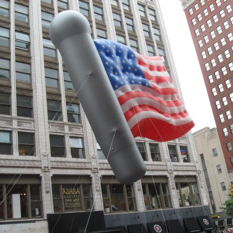 American Flag Parade Balloon