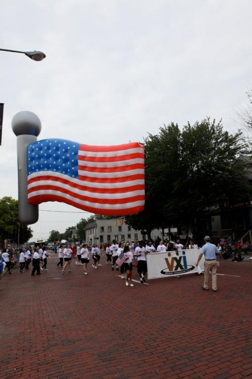 American Flag Parade Balloon