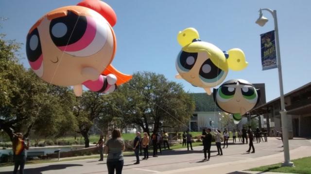 Powerpuff Girls Parade Balloon