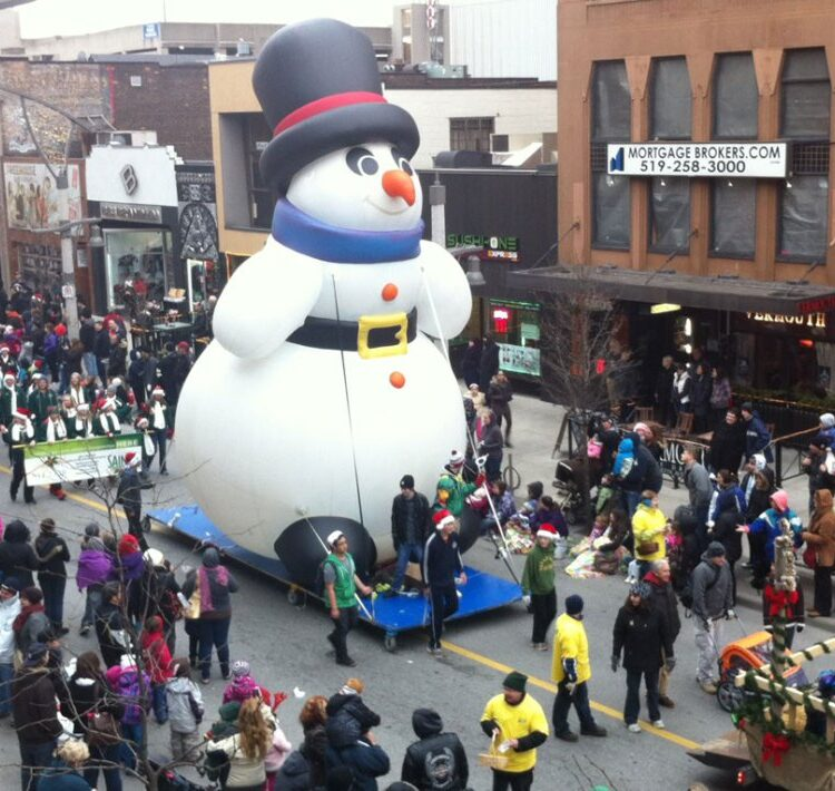 Snowman Medium Balloon (Jingle All The Way), 25'