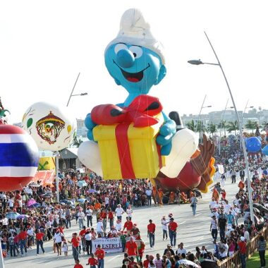 Jokey Smurf Parade Balloon