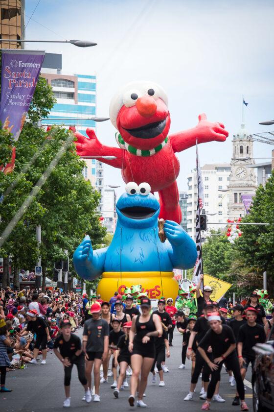 Farmers Santa Parade Auckland 2015