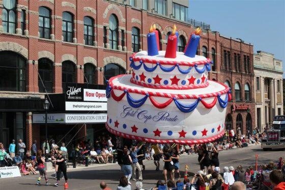 Birthday Cake Parade Balloon