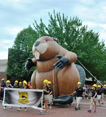Beaver Parade Balloon