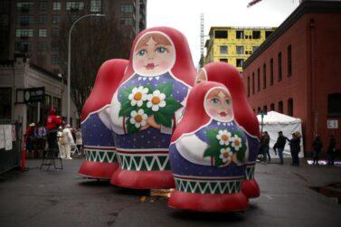 Russian Dolls Parade Balloons