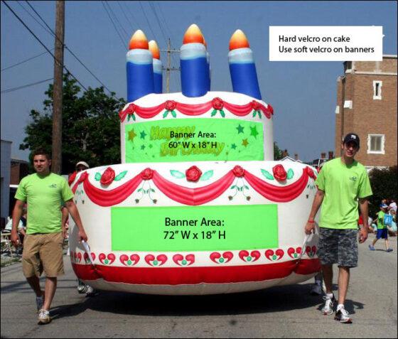 Cake Parade Balloon
